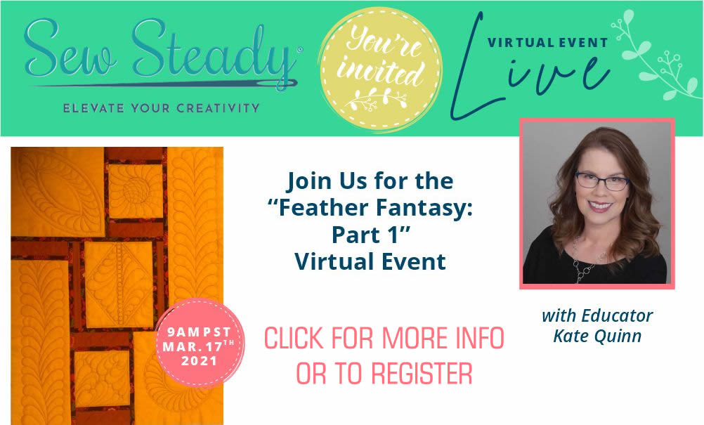 FEATHER FANTASY SAMPLER CLASS: PART 1 VIRTUAL EVENT WITH KATE QUINN, MARCH 17TH 2021