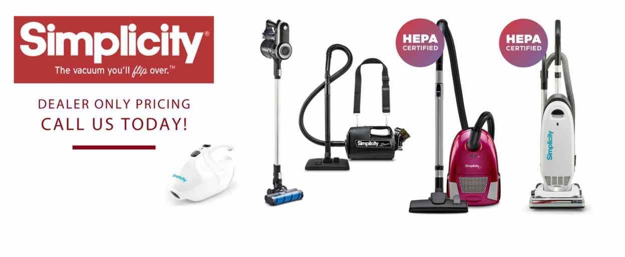 Simplicity Cordless Stick and Upright Vacuums