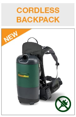 CleanMax Cordless Backpack CMWB