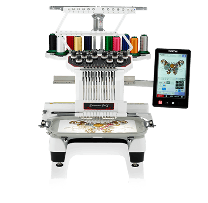 Entrepreneur Pro X PR1050X 10-Needle Home Embroidery