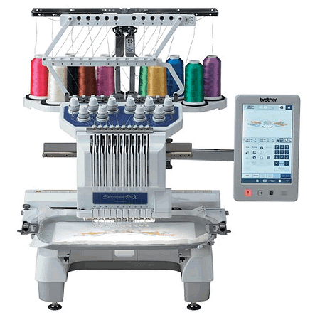 Brother Entrepreneur PR1055X 10-Needle Home & Small Business Embroidery Machine